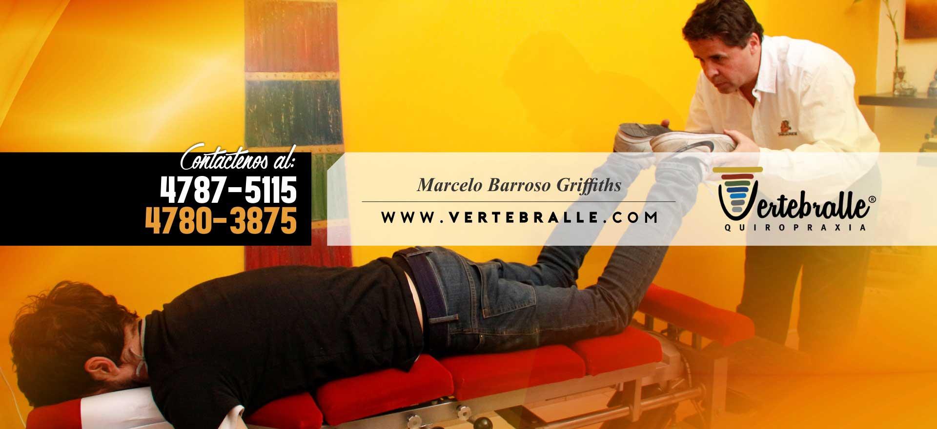 Vertebralle Quiropraxia - Marcelo Barroso Griffiths